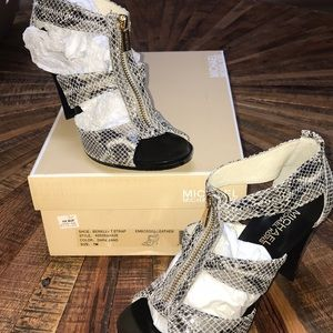 """Michael Kors """"Berkley"""" T strap heels"""
